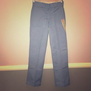 BabyBlue NWT Dickies! (28x30 Flat Front)